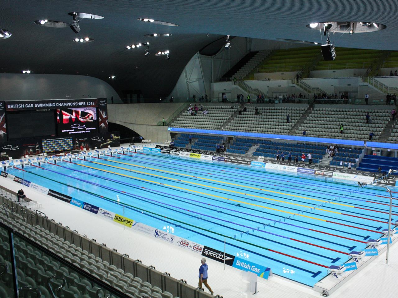 ロンドンオリンピック:アクアティクスセンター