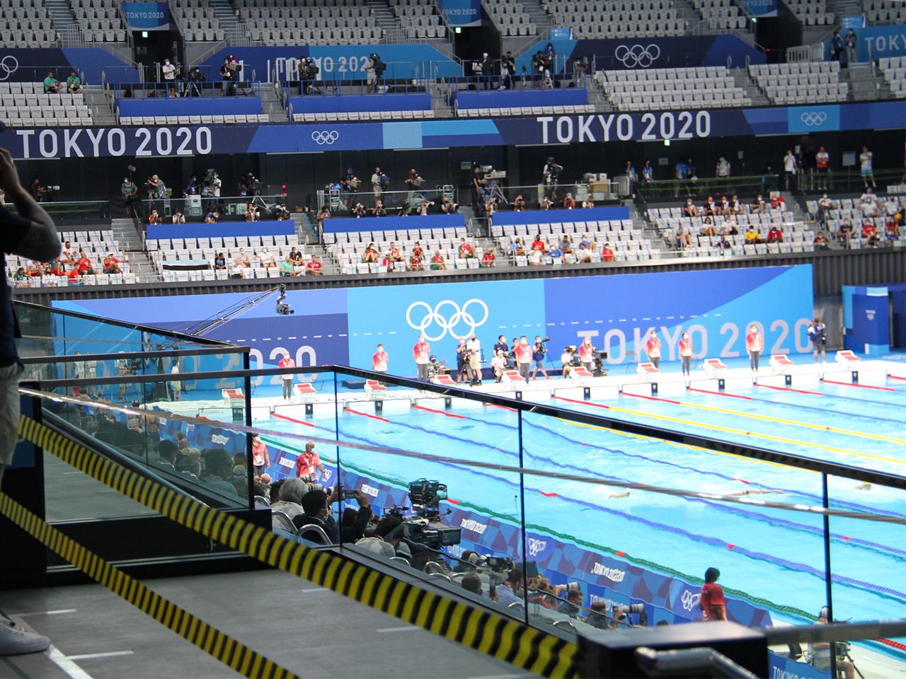 東京オリンピック:東京アクアティクスセンター