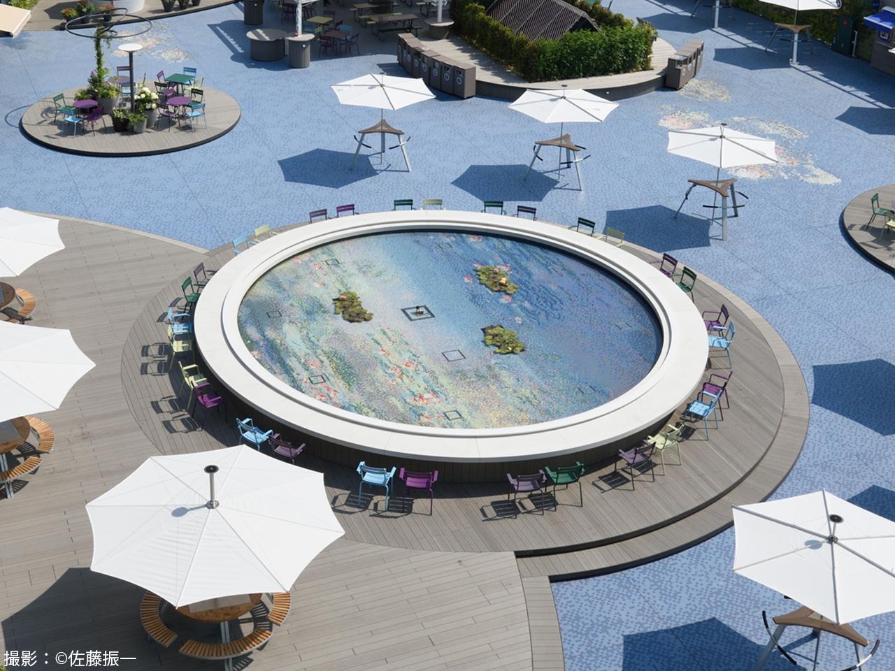 西武池袋本店 食と緑の空中庭園